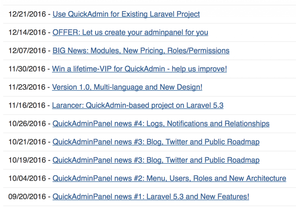 quickadmin campaigns