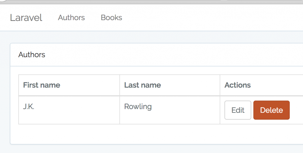 Lesson 4  Index, List Table and Pagination – Quick Admin Panel