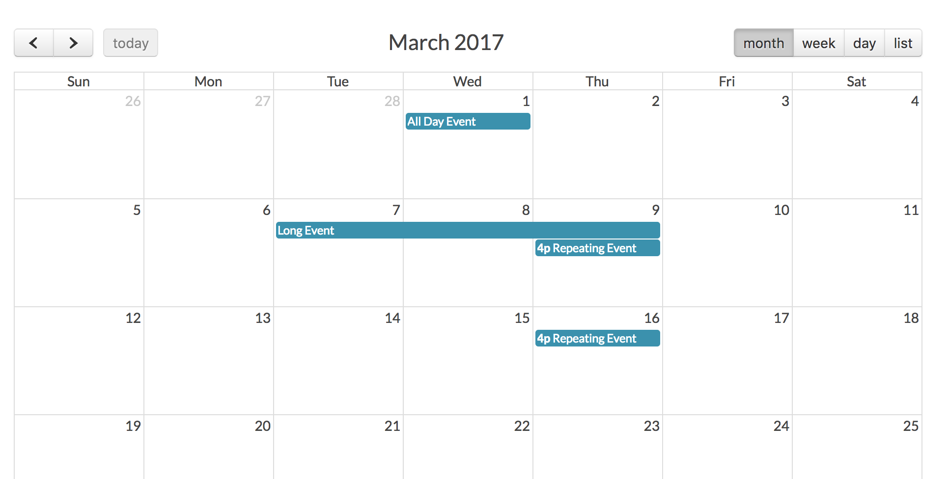 Script Calendario Html.Tasks Calendar With Laravel Fullcalendar Quickadminpanel
