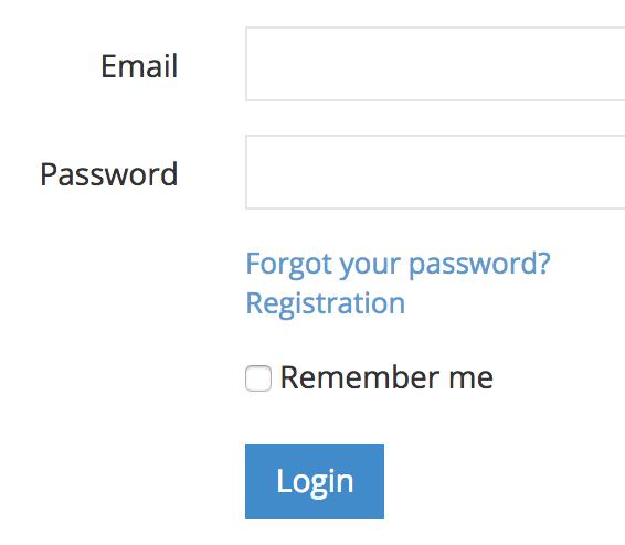 admin panel registration link