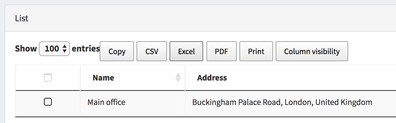 "New field type ""Location"": pick address from Google Maps"