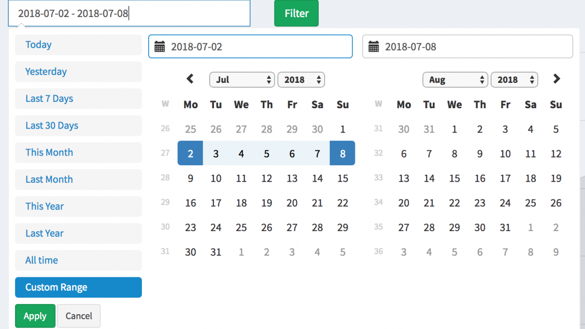 How to Add Date Filters to our Reports Generator – Quick