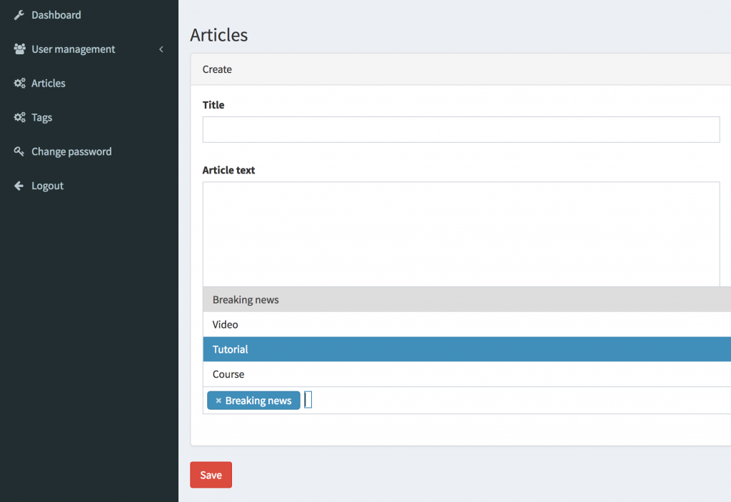 Add Tags to Articles: Laravel Many-to-Many Relationships with