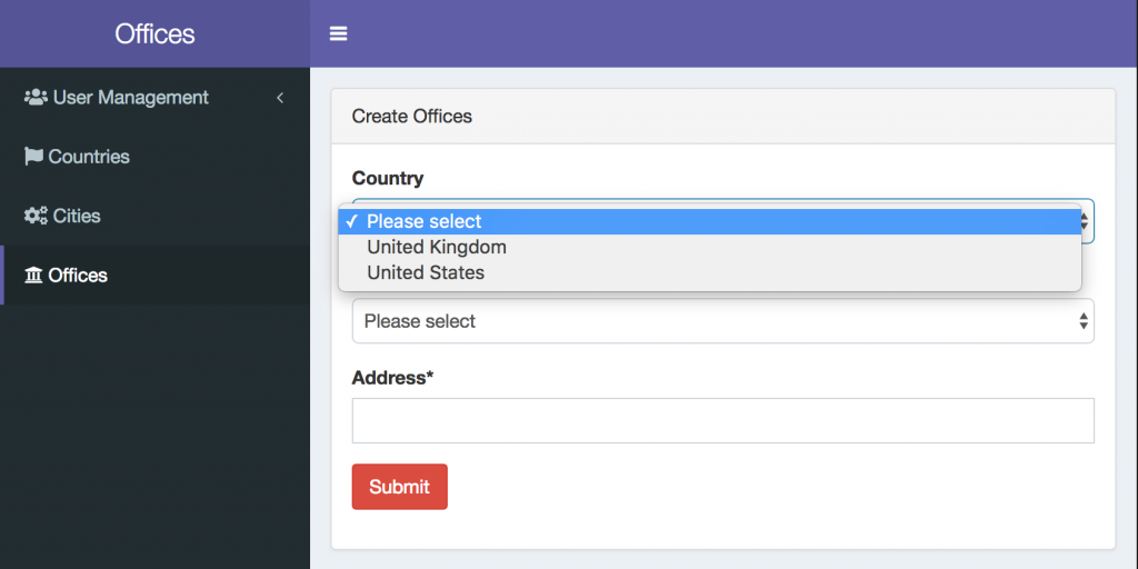 Laravel Forms: Select Dependent Dropdowns with jQuery and